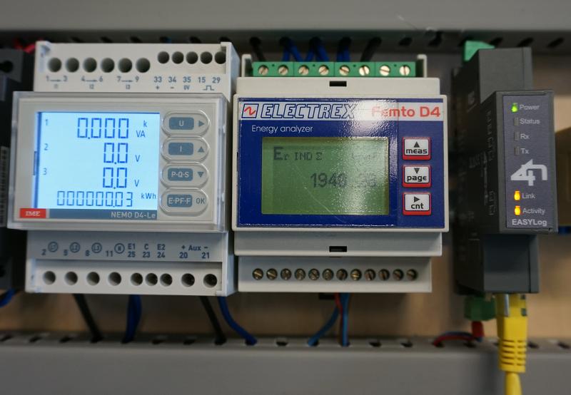 Efficientamento energetico con EasyLog